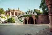 парк гуэль в барселоне. каталония, испания — Стоковое фото