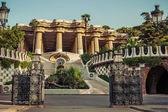 Antoni Gaudi in Barcelona, Spain. — Stock Photo