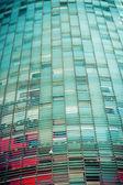 Torre agbar barcelona. catalonië, spanje. — Stockfoto