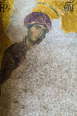 Christian mosaic icon in Cathedral mosque Hagia Sofia — Stock Photo