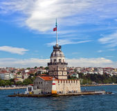 Maiden's Tower, Istanbul, Turkey — Stock Photo