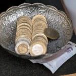 Turkish money — Stock Photo #49180391