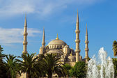 Blue mosque Sultanahmet, Istanbul, Turkey — Foto Stock