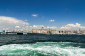 Istanbul sea front view, Bosporus, Turkey. — Stock Photo