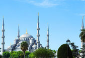 Blue mosque Sultanahmet, Istanbul, Turkey — Stock Photo