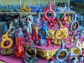 Souvenirs in Cappadocia, Turkey. — Foto Stock