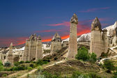Love valley in Goreme, Cappadocia — Stok fotoğraf