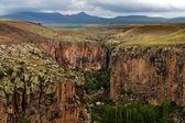 Ihlara valley in Cappadocia, Turkey — Stock Photo