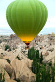 Colorful hot air balloons — Stockfoto