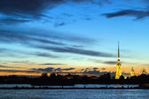 The Peter and Paul Fortress, St.Petersburg, Russia — Stock fotografie