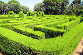 Park labyrinth — Stock Photo