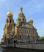"Saint Petersburg, Russia, Orthodox Church ""Spas na Krovi"". — Foto Stock"