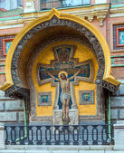 "Saint Petersburg, Russia, Orthodox Church ""Spas na Krovi"". — 图库照片"