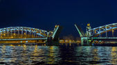 Bridge in the city of St. Petersburg, Russia — Stock Photo