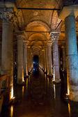 The Basilica Cistern, Istanbul — Stock Photo