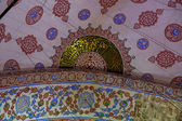 Inside Sultanahmet Mosque in Istanbul, Turkey — Stock Photo