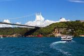 Bosporen bridge, istanbul, turkiet — Stockfoto