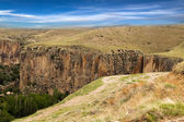 The Ihlara valley in Cappadocia - Turkey — Stockfoto