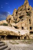 Grotta monastero — Foto Stock