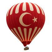 Horkovzdušný balón turečtina — Stock fotografie