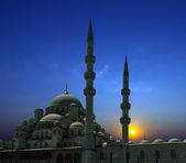 Arabian Sunset mosque — Photo