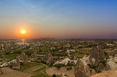 Cave houses of Cappadocia — Stock Photo