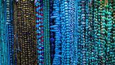 Handgemachte natürliche perlen halskette — Stockfoto
