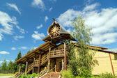 Mandrogi Russian Village attractions in Verkhniye Mandrogi — Stock Photo