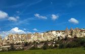 Mountain landscape, Goreme, Cappadocia, Turkey — Stockfoto