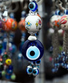 Souvenir from Turkey - an eye beads — 图库照片