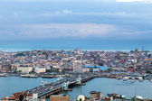 Panorama of Istanbul , Turkey. — Stock Photo