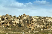 Mountain landscape Cappadocia, Turkey — Stock Photo