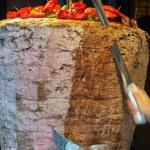 Turkish food Doner Kebab — Stock Photo #49856169