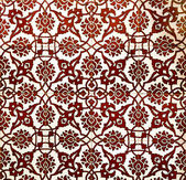Vintage pattern with ethnic ornament on grunge background — Stock Photo