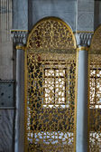 Hagia sophia interiör i istanbul, turkiet — Stockfoto