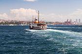 Passenger vessel in Bosporus, Istanbul, Turkey. — Photo