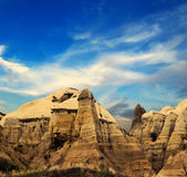 Rock landscape at Cappadocia Turkey — Stock Photo