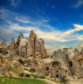 Unique geological formations, Cappadocia, Turkey — Stock Photo