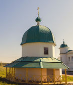 Chapel The Alexander Svirsky Monastery — Stock Photo