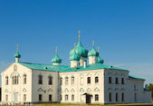 Churches of the Transfiguration St. Alexander of Svir Monastery — Stock Photo