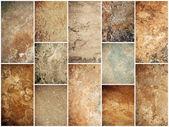 Stones texture set — Stock Photo
