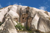 Mountain landscape, Goreme, Cappadocia, Turkey — Stock Photo