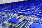 Supermarket basket — Stock Photo