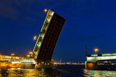 Bridge in the city of St. Petersburg — Stock Photo