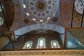 Dome Inside Sultanahmet Mosque in Istanbul, Turkey — Stock Photo
