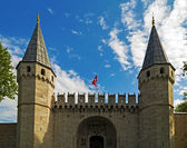 Topkapi Palace, Istanbul Turkey — Stock Photo