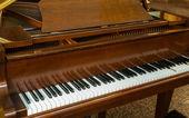 钢琴键 — 图库照片
