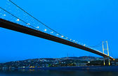 Bosphorus bridge, Istanbul, Turkey — Stock Photo