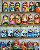 Set of nesting dolls — Stock Photo