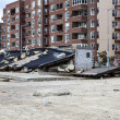 Hurricane Sandy. The Aftermath in New York - ストック写真